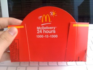 24 Hour McDonalds Delivery!