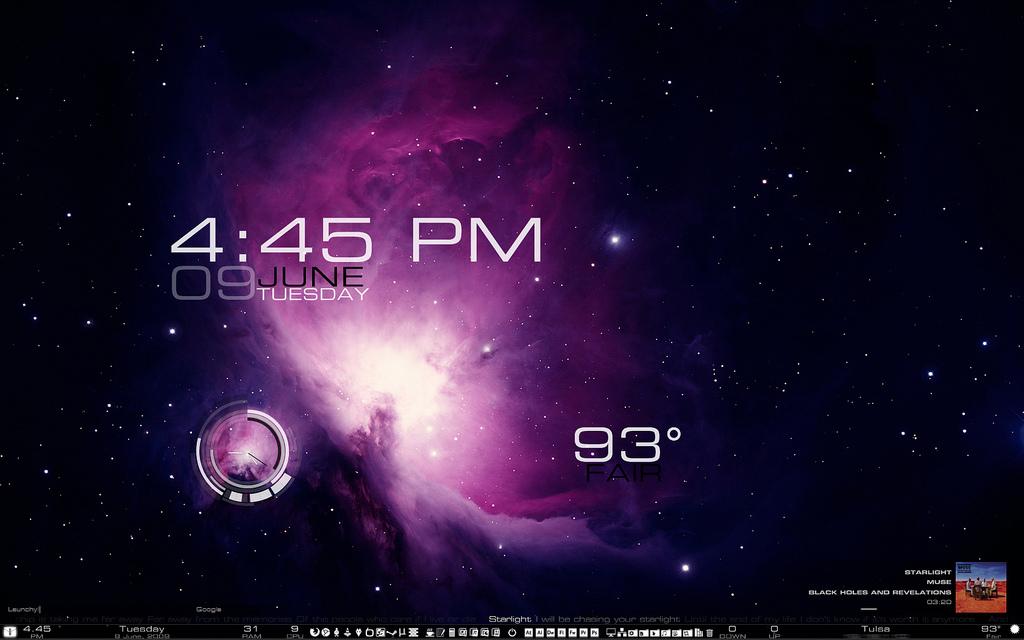 Starlight Desktop Mod