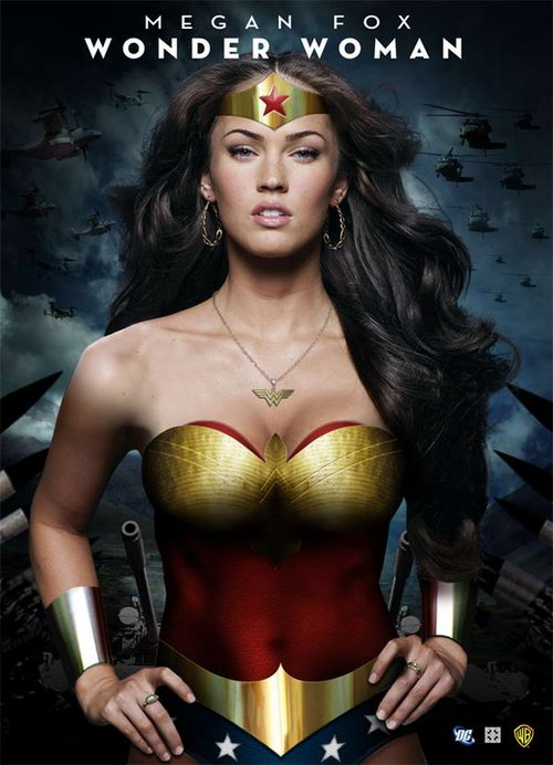megan fox wonder woman