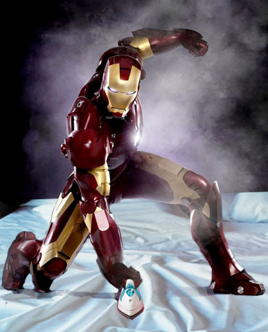iron man literal