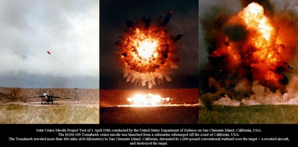 tomahawk cruise missile test