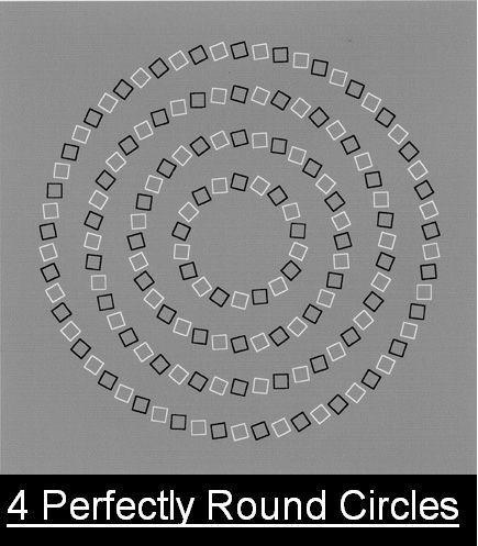 4 perfect circles