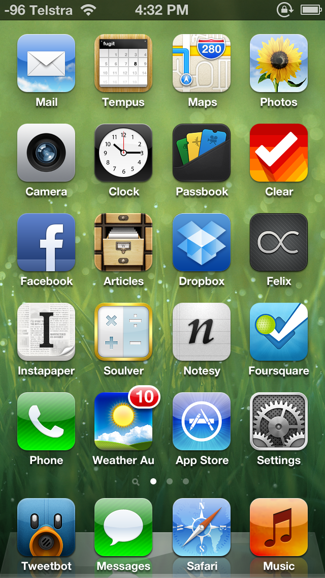 My Iphone 5 Homescreen Benny Ling 39 S Bling