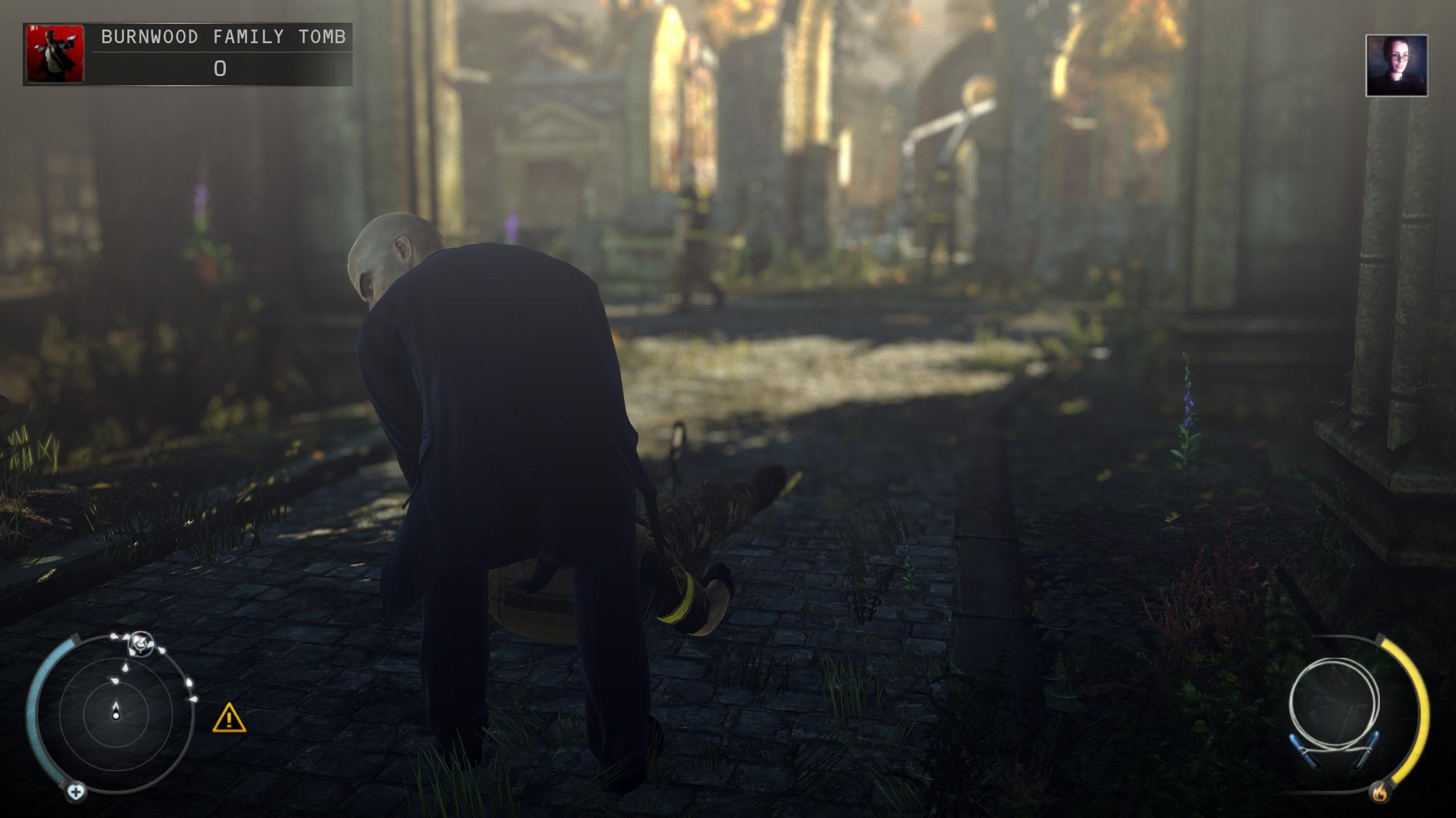 47 dragging someone's unconscious body
