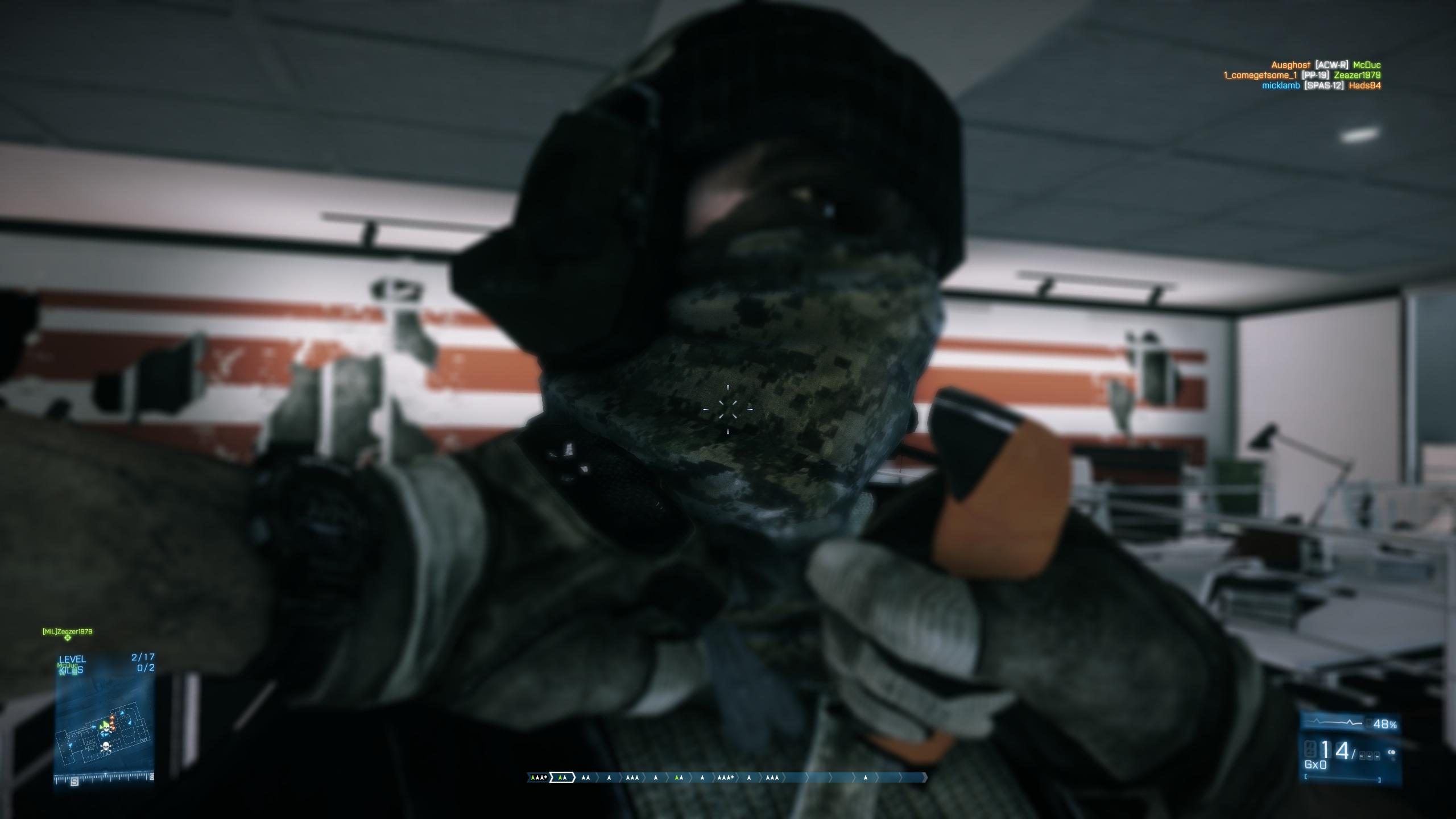 Battlefield 3 Gun Master Knife Kill