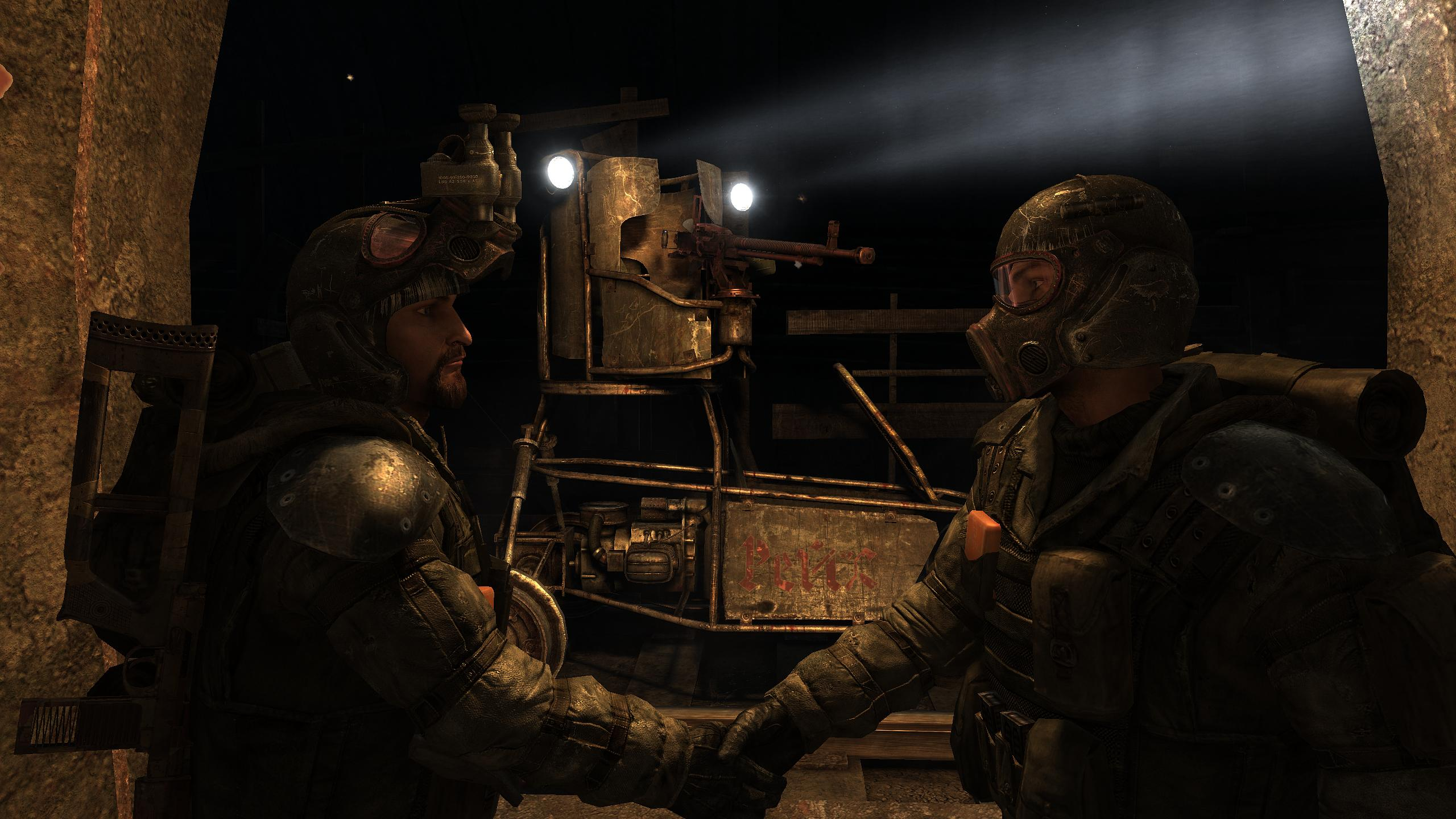 At the heart of it, Metro 2033 is about camaraderie. You're not a Ranger, but friends help out friends.