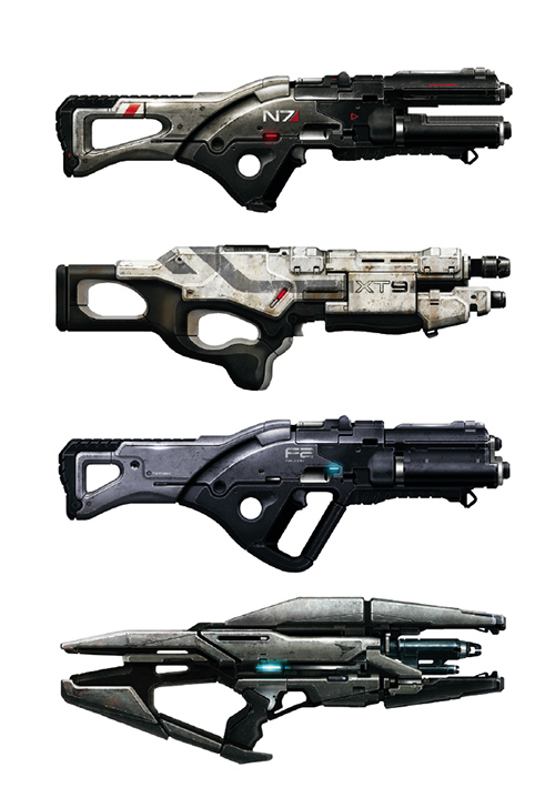monkeydseehr: Weaponry - Mass Effect [◼] | hexington