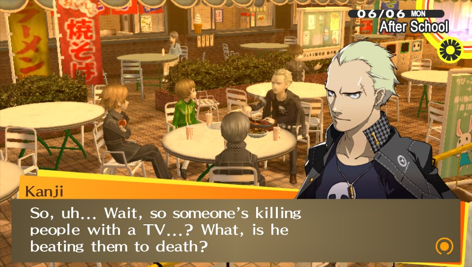 Way to give away the plot, Kanji.