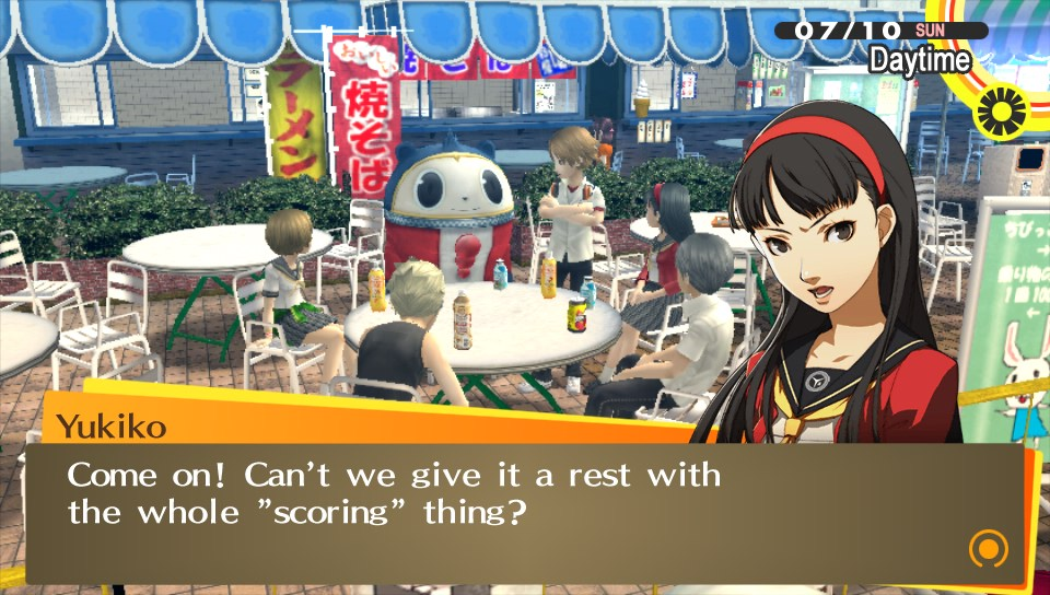 The humour in Persona is pretty great