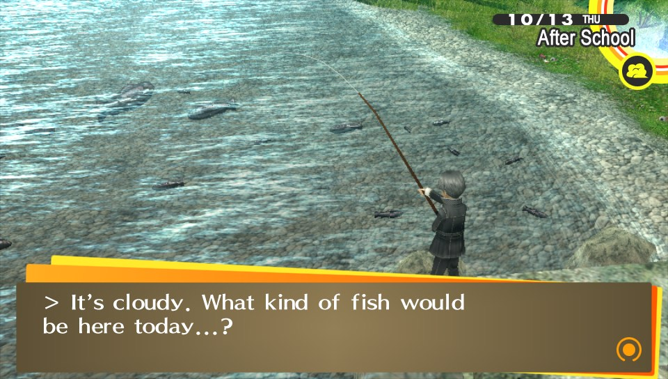 You can do fishing!