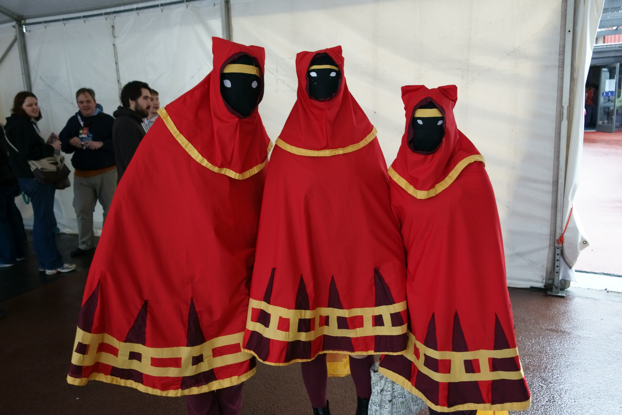 These Journey dudes were everywhere at PAX Aus, but I managed to grab a photo of a group of three. Which reminds me, I have a PS3 now, so I should probably play Journey...