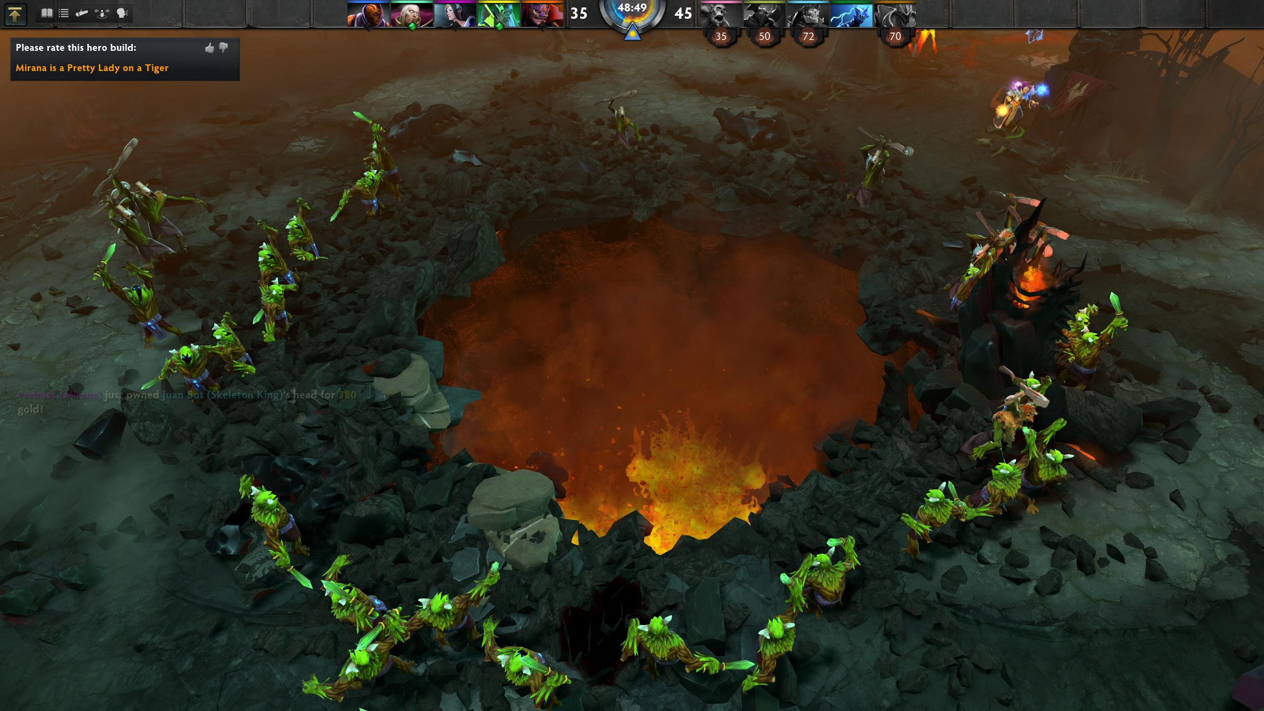 Dota Dire Ancient Gone