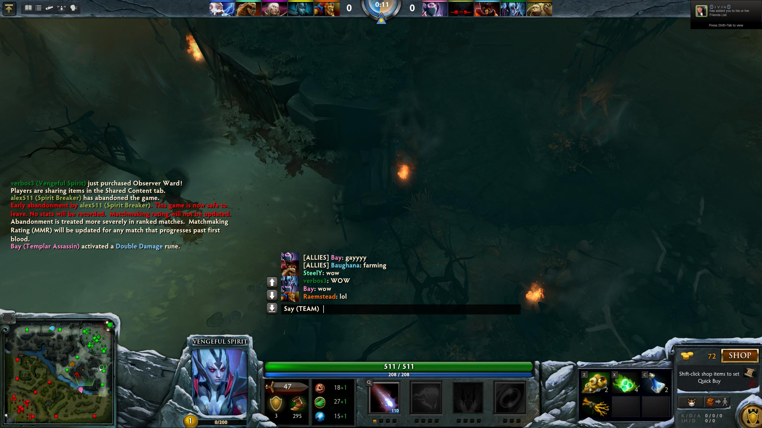 Dota 2 matchmaking abandon