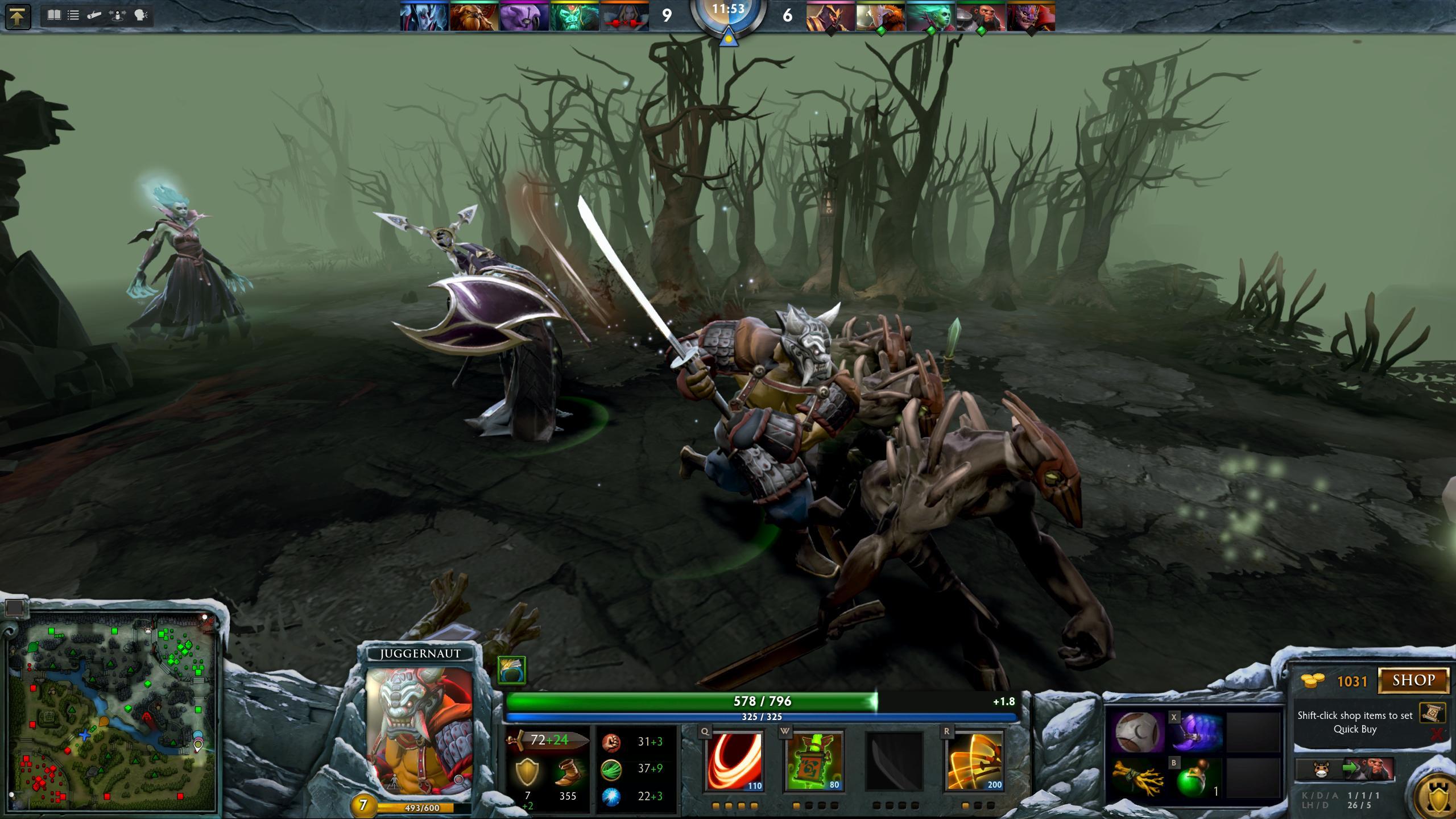 Juggernauts Online Game Dota