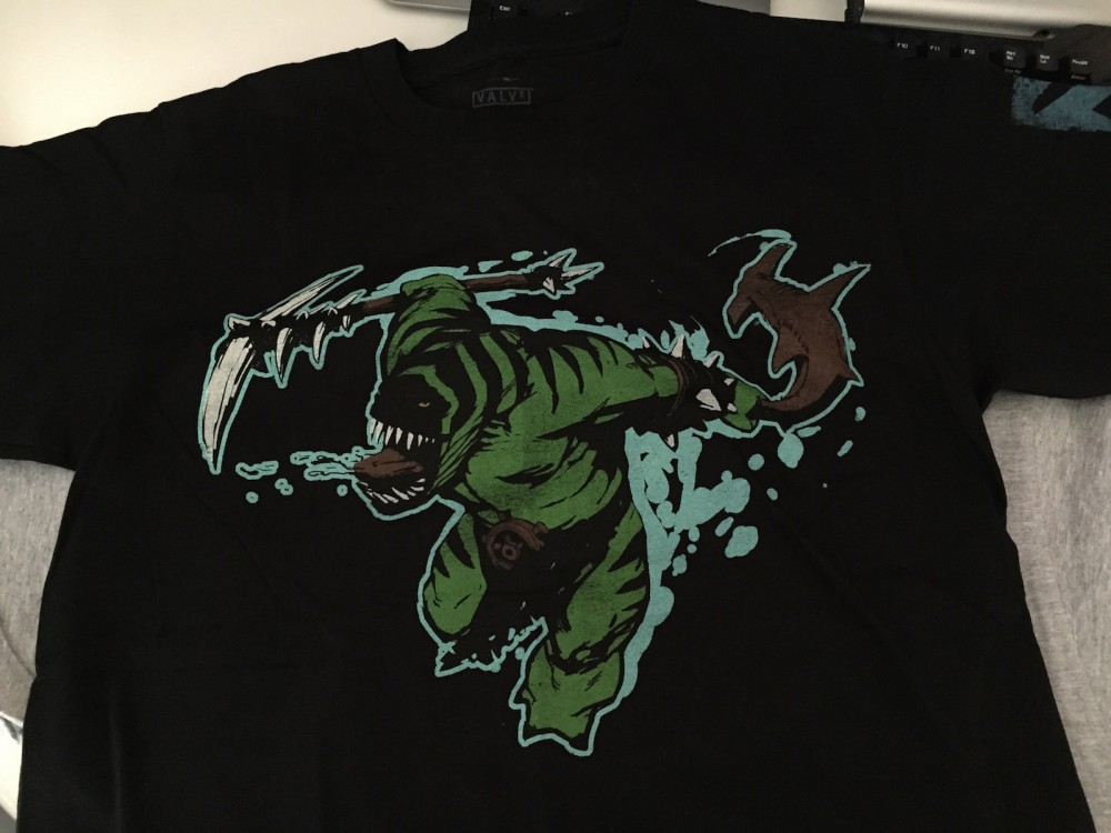 Tidehunter t-shirt