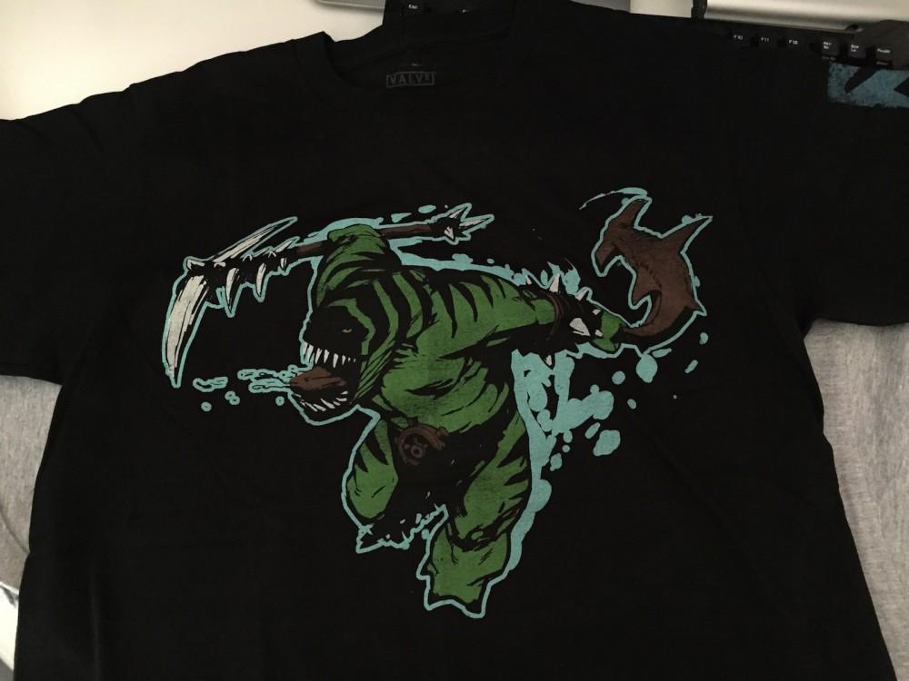 Tidehunter t-shirt