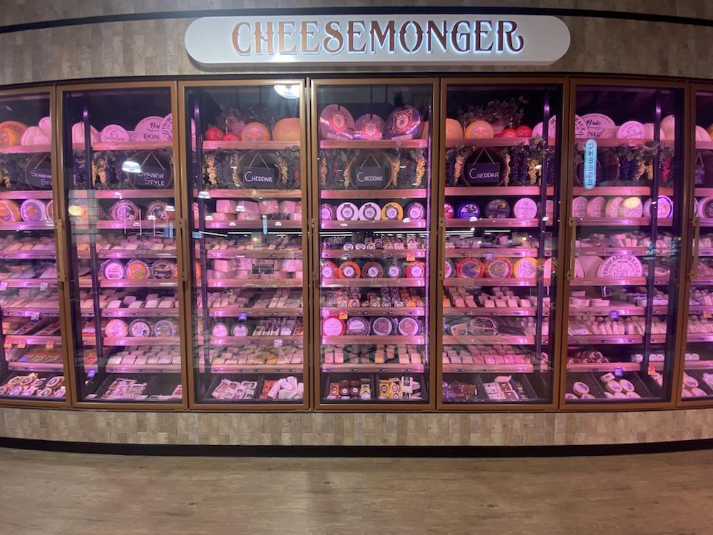 The cheese wall at Seasons IGA